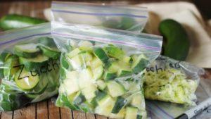 Как заморозить кабачки на зиму для прикорма ребенку