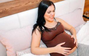 Болит живот 37 неделя беременности
