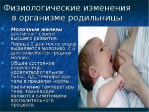 Застой молозива в железах третий день после родов