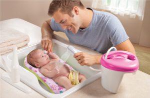 Чем мыть ванночку для новорожденного