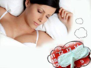 К чему снится кровь месячные во время беременности