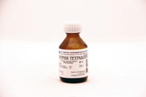 Как применять тетраборат натрия при молочнице у детей