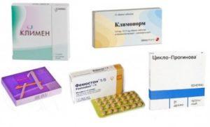 Какие препараты принимать после удаления яичников и матки