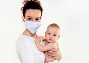 Кормящая мама заболела простудой как не заразить ребенка