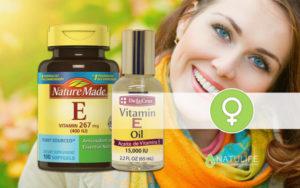 Витамин е и задержка месячных