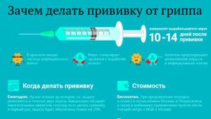 Когда можно планировать беременность после прививки от гриппа