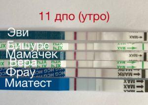 Признаки беременности на 11 день после овуляции