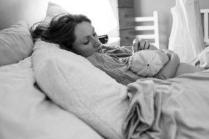 Приливы жара после родов