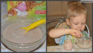 Как разводить гречневую кашу хайнц для первого прикорма