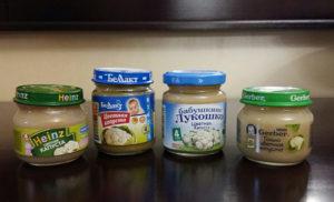 Какое овощное пюре лучше для первого прикорма фирма