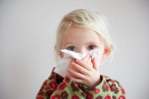 Сухой глубокий кашель у ребенка