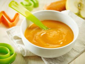 Морковное пюре для ребенка 6 месяцев как приготовить