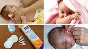 Чем чистить уши новорожденному ребенку