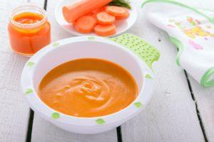 Как приготовить пюре из моркови для первого прикорма