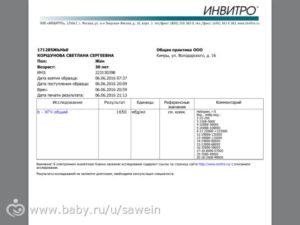 Анализ хгч расшифровка при беременности инвитро сколько стоит