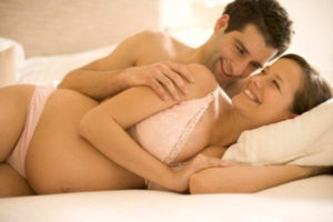 Можно ли кончать во время беременности в девушку