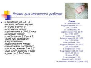 Распорядок дня ребенка 2 месяца на грудном вскармливании