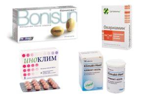 Таблетки от климакса у женщин после 50 лет