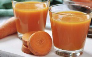 Морковный сок при гв