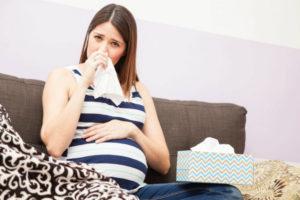 Пошла кровь из носа при беременности