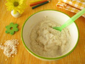 Как варить рисовую кашу для первого прикорма