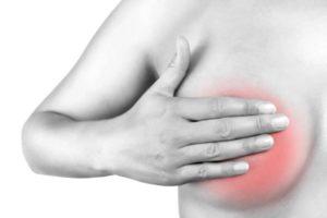 Почему наливается и болит молочные железы при климаксе