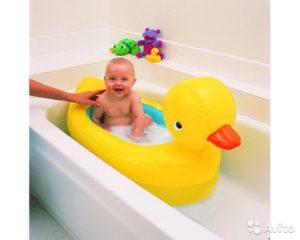Для купания малыша в ванной