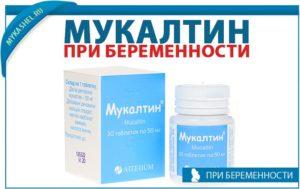 Можно ли пить мукалтин при беременности 2 триместр