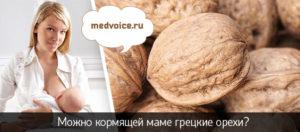 Грецкий орех для кормящей мамы в первый месяц