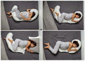 Почему во время беременности нельзя лежать на спине
