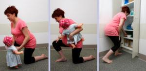 Поднятие тяжестей во время беременности