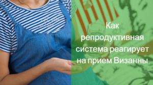 Беременность после визанны статистика