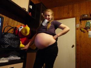 37 неделя беременности тянет живот