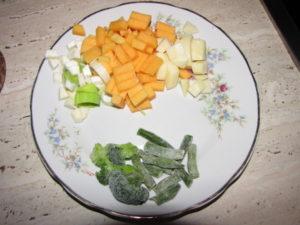 Овощное пюре для 6 месячного ребенка как приготовить