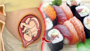 Можно есть суши беременным