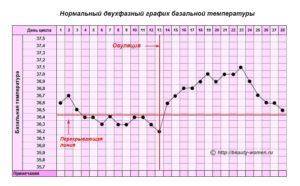 Овуляция температура тела 37