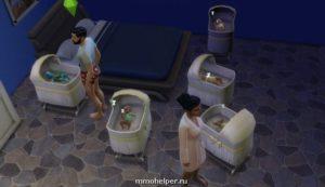 Код в симс 4 на беременность близнецами девочками