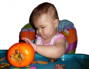 Можно ли детям давать хурму