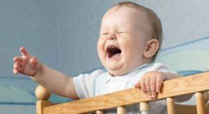 В 4 месяца ребенок кричит