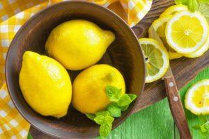 Лимон кормящей маме можно