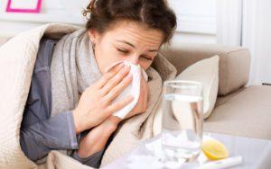 Как не заболеть беременной если дома все болеют