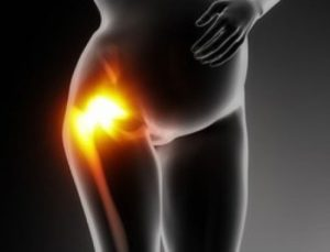 Боль в ноге при беременности в области бедра