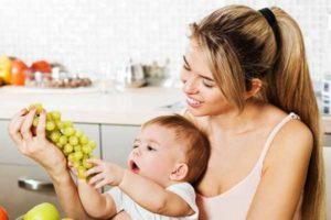 Можно ли виноград кормящей маме в первый месяц