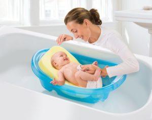 Как помыть ванночку для новорожденного