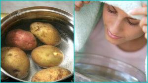 Как дышать над картошкой при насморке беременным