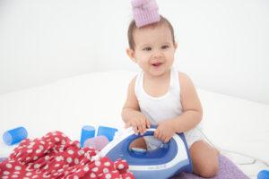 Обязательно ли гладить вещи новорожденного
