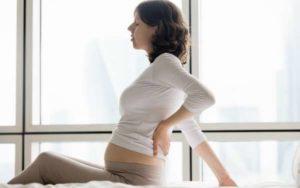 Болит поясница 20 неделя беременности