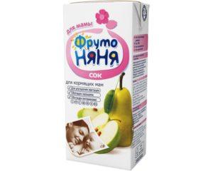 Соки для кормящей мамы