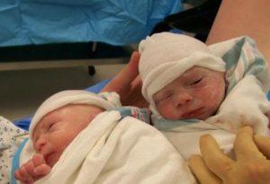 Роды двойни на 34 35 неделе беременности