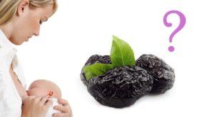Можно ли чернослив кормящей маме в первый месяц